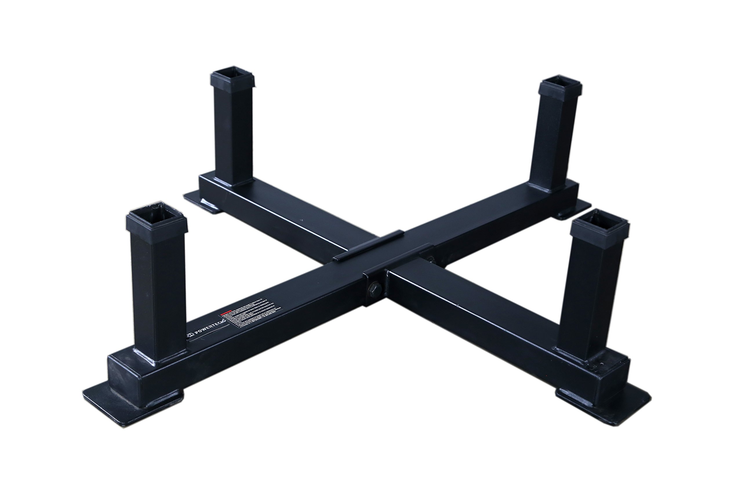 Powertec Fitness Workbench Accessory Rack Black
