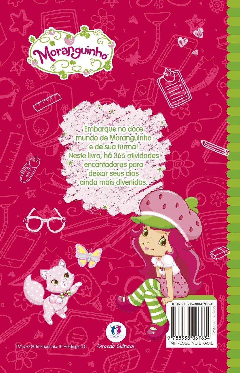 Moranguinho 365 Atividades E Desenhos Para Colorir Livros Na Amazon Brasil