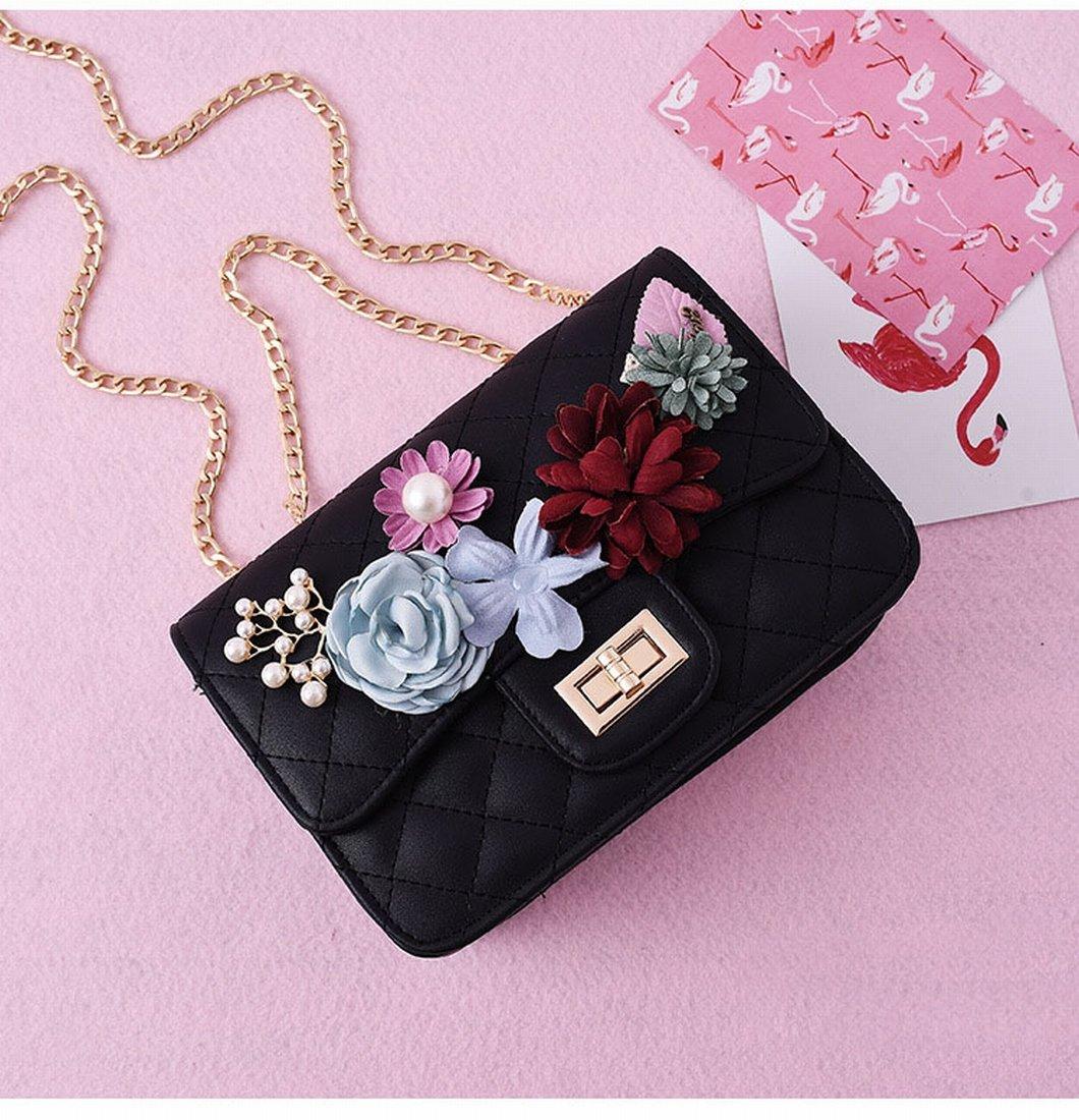 Blumen Kette Tasche Tasche Schulter Tasche Messenger Tasche Retro