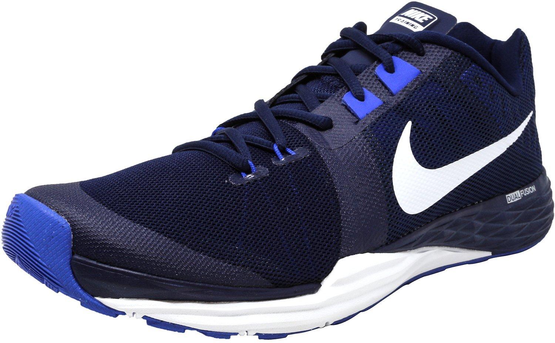 NIKE Men's Train Prime Iron DF Cross Trainer Shoes B076DWJN3D 8.5 D(M) US|Binary Blue/White-Racer Blue