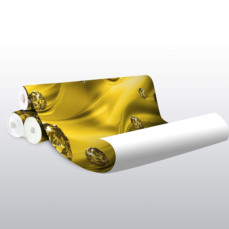 Wandmotiv24 Fototapete Gelb Kugeln Tuch abstrakt 3D wellen wellen wellen Seide M1957 XL 350 x 245 cm - 7 Teile Wandbild - Motivtapete B07KLTPBRG Wandtattoos & Wandbilder 94a54e