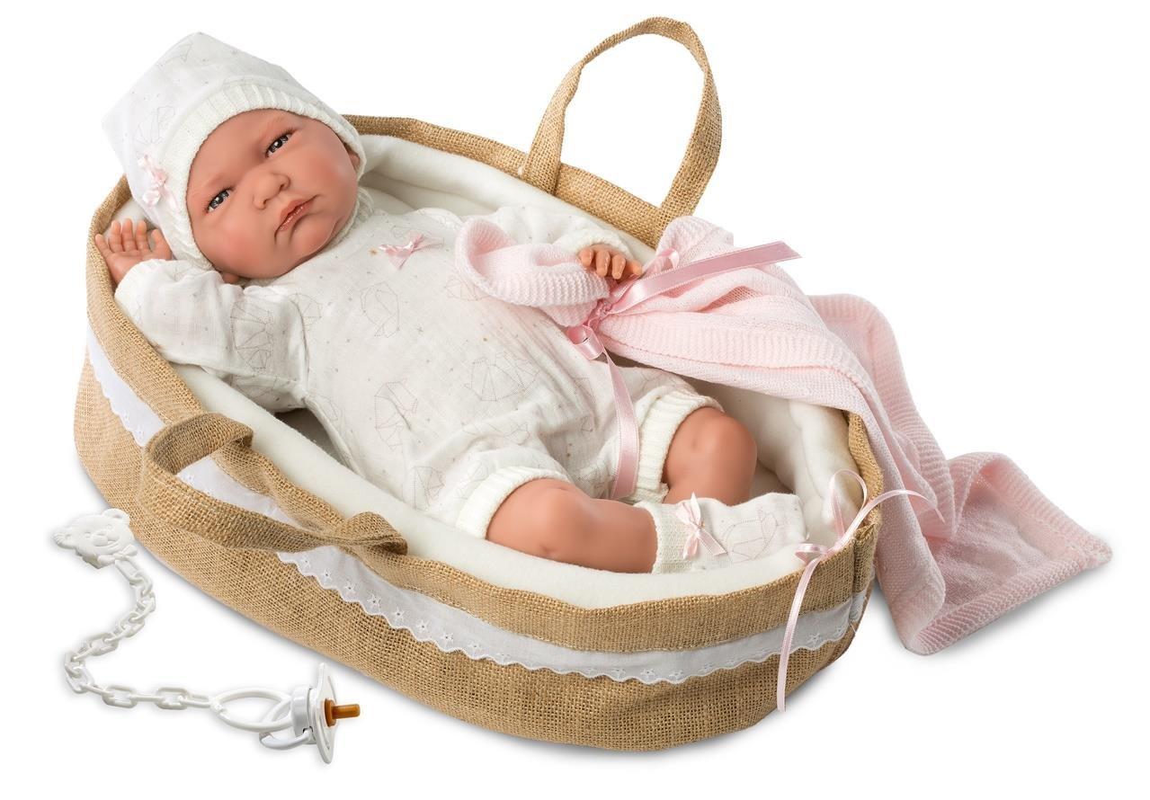Llorens 74044 Newborn Lala muñeca, 42 cm