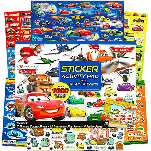 Bendon Disney Pixar Cars/Planes Ultimate Sticker Activity Pad