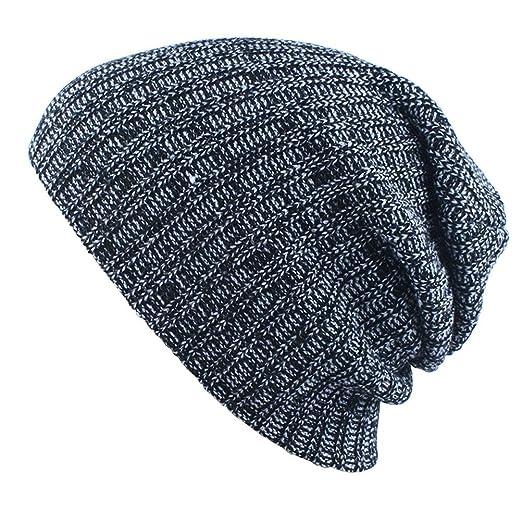 f5d1021c CXW Winter Beanies Solid Color Hat Unisex Plain Warm Soft Beanie ...