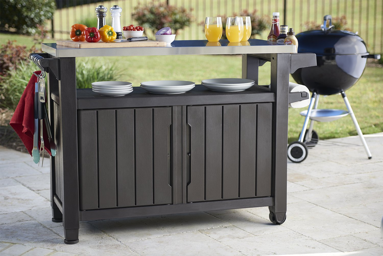 Barbecue Storage Table