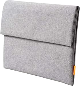 15.6 inch Laptop Sleeve Case Water Repellent Notebook Computer Pocket Case Slim Tablet Briefcase Carrying Bag Durable for 15-15.6 inch Laptop Notebook Tablet Business Travel
