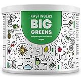 Big Greens | Superfood Smoothie Pulver | 28 Superfoods harmonische kombiniert wie Gerstengras, OPC, Acerola, Reishi, Chlorella, Moringa, Spirulina | HERGESTELLT IN DEUTSCHLAND | 200 Gramm | VEGAN