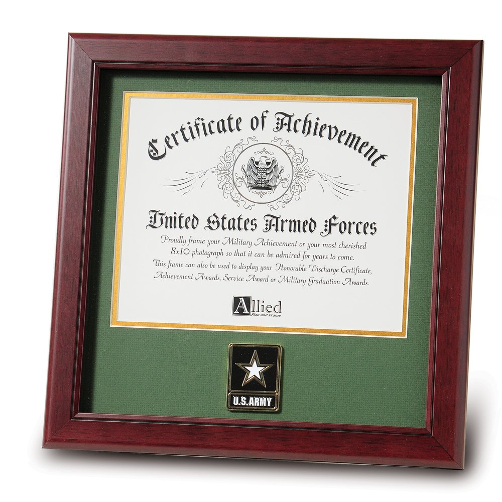 Amazon Allied Frame United States Go Army Certificate Of