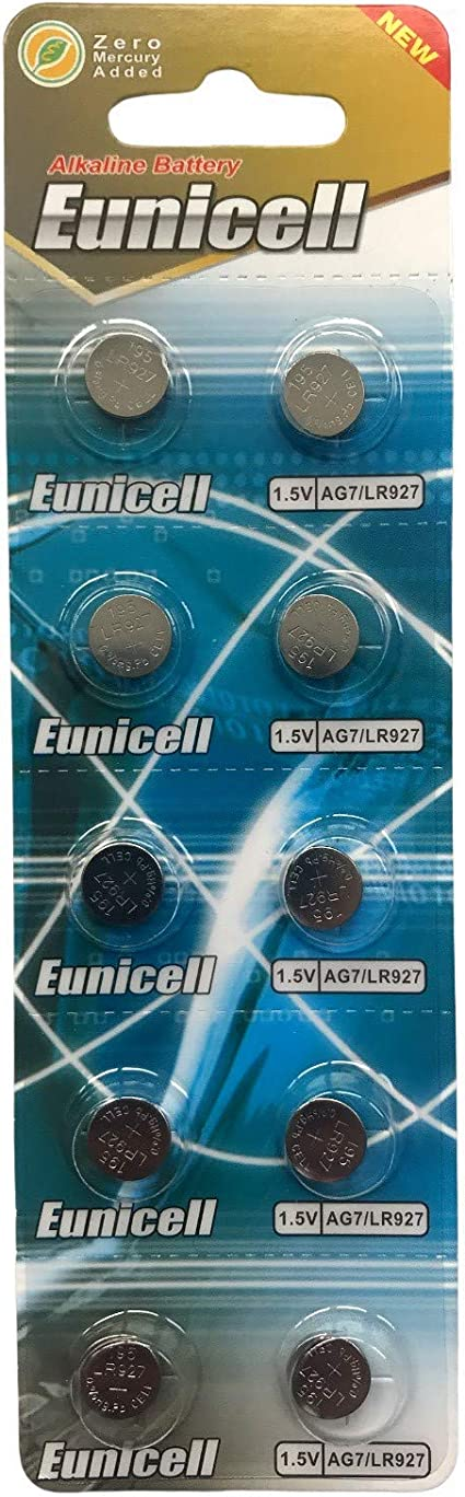 Eunicell Ag7 Alkaline Knopfzellen Elektronik