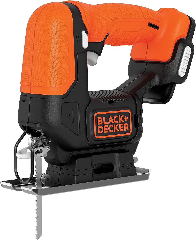 Black+Decker BDCJS12N-XJ - Sierra de calar 12 V, No incluye batería ni cargador