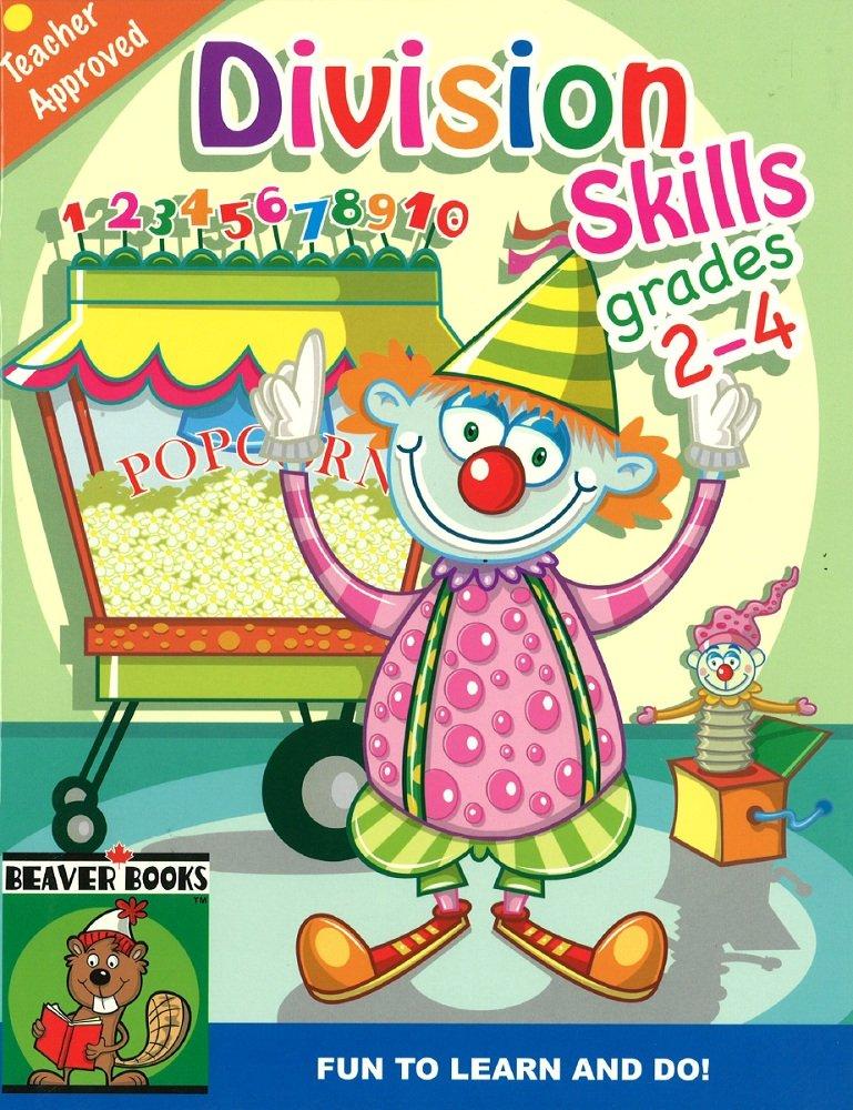 Read Online Division Skills Grades 2-4--Designed to Reinforce Essentail Math Skills PDF