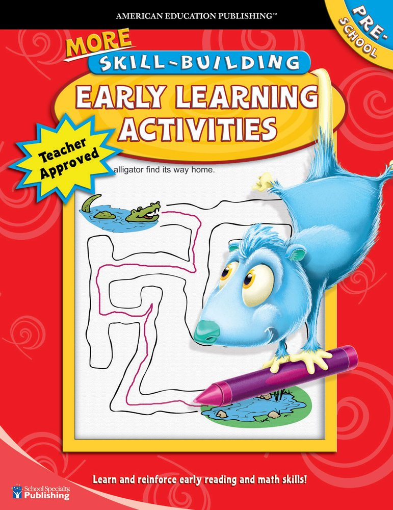 More Skill-Building Early Learning Activities, Preschool PDF