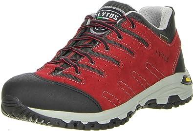 Lytos Damen Herren Wanderschuhe Trekkingschuhe schwarz, Größe:40;Farbe:Schwarz