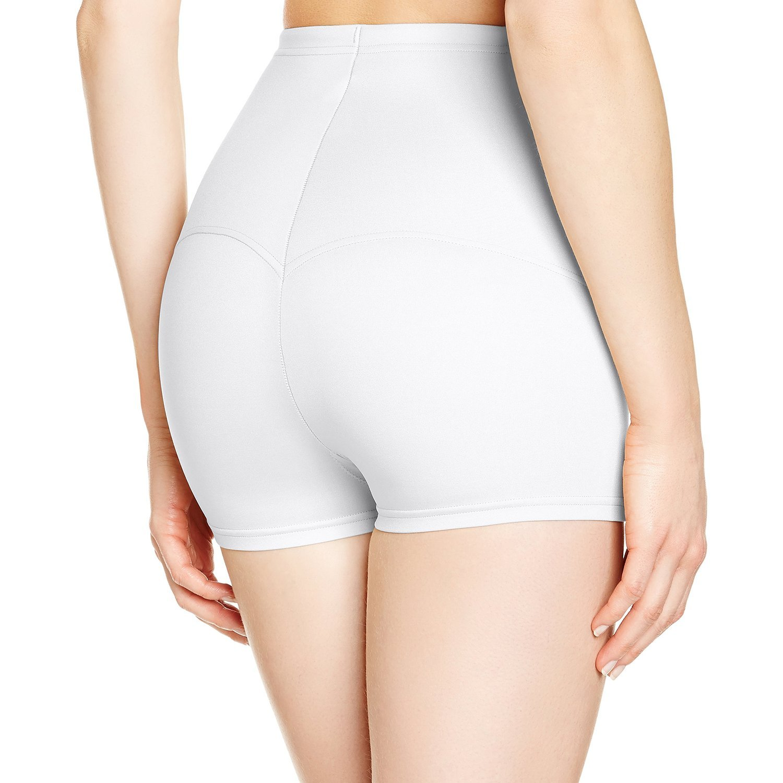 b7895ec23ac Flexees by Maidenform Women s Firm Control Tummy Boy-short at Amazon  Women s Clothing store  Body Shapers Undergarments