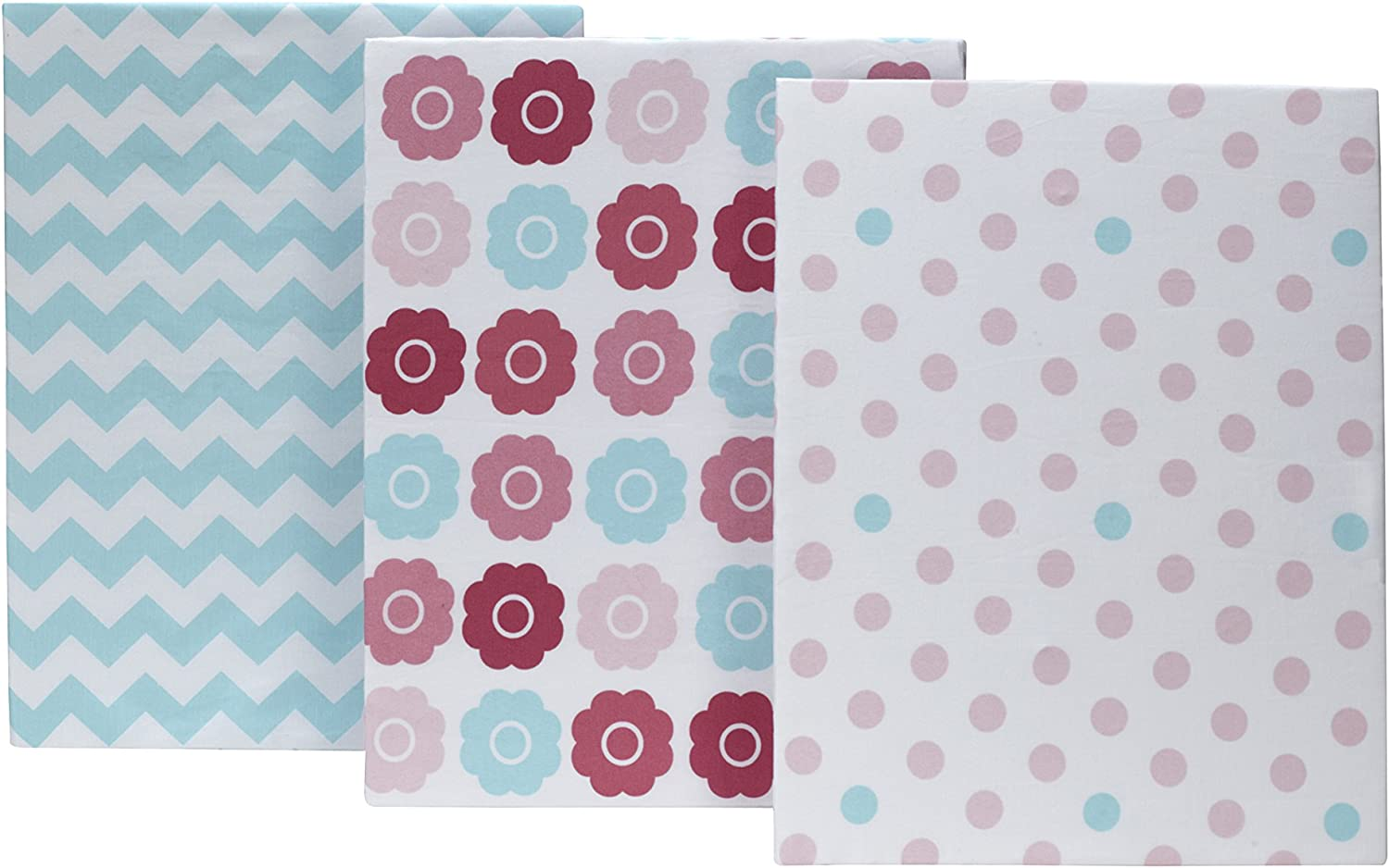 Tickled Pink Little Bedding by NoJo 3 Piece Crib Set