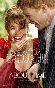 ABOUT TIME MOVIE POSTER 2 Sided ORIGINAL 27x40 RACHEL MCADAMS