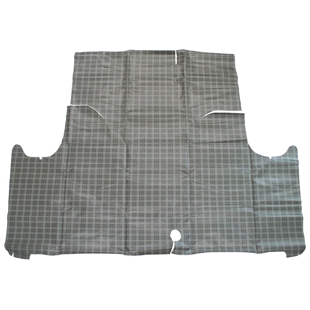 1964-65 Falcon Standard Plaid Trunk Mat Fleece Die-Cut Ford (TM64FAPLS) Auto Krafters