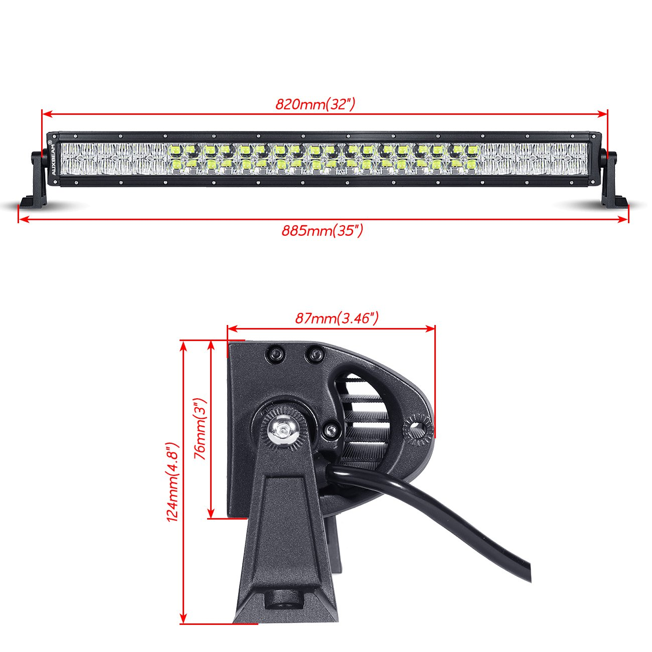 Auxbeam Wiring Diagram V Series Free Download Curving Led For Use W Light Bar Aliexpress Com Buy Hello Eovo 4d Curved 18w
