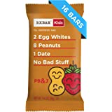 RXBAR Kids, Peanut Butter and Jelly, Protein Bar, 1.16 Ounce (Pack of 16) Kids Protein Snack, Breakfast Bar, Lunchbox Snack