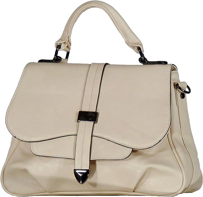 Eleganci Burbeline Bags , Sac à main pour femme Beige