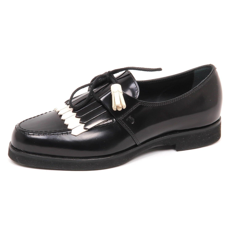 Tod s E3086 Nero Scarpa Donna Nero Nero Gomma XL Scarpe s Frange Shoe Woman Nero 7a610da - reprogrammed.space