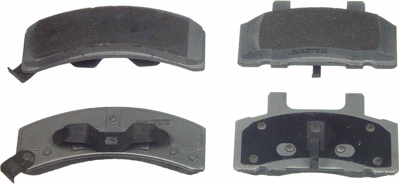 Wagner ThermoQuiet MX368 Semi-Metallic Disc Pad Set Front