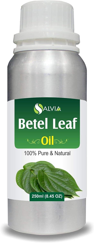 Betel Leaf Oil (Piper betle) 100% Pure & Natural - Undiluted Uncut Therapeutic Grade Essential Oil - 250 ML