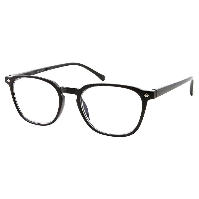 8ac32533d54 Amazon.com  Anti Glare Lens Progressive Multifocus Reading Glasses ...