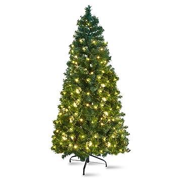 KARMAS PRODUCT 5 Ft Christmas Tree 450 Tips Decorate Pine Tree Light With  Metal Legs Green - Amazon.com: KARMAS PRODUCT 5 Ft Christmas Tree 450 Tips Decorate