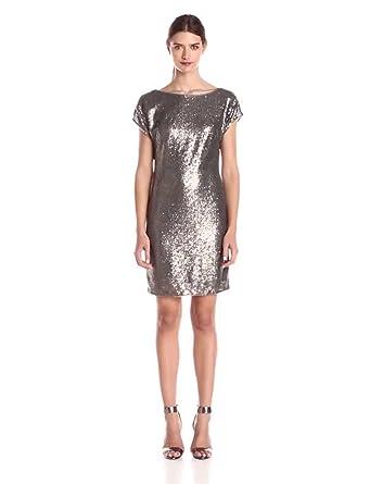 Amazon.com: Vera Wang Women&39s Sequin Sheath Dress: Clothing