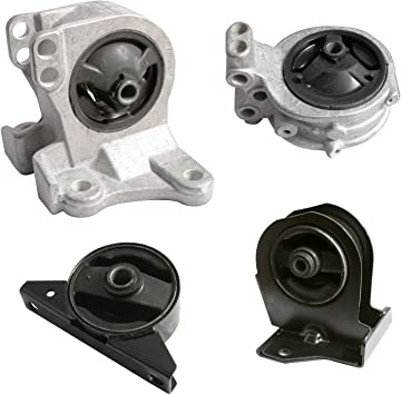 Engine Motor /& Auto Transmission Mount Kit Set for Sebring Eclipse Galant 2.4L
