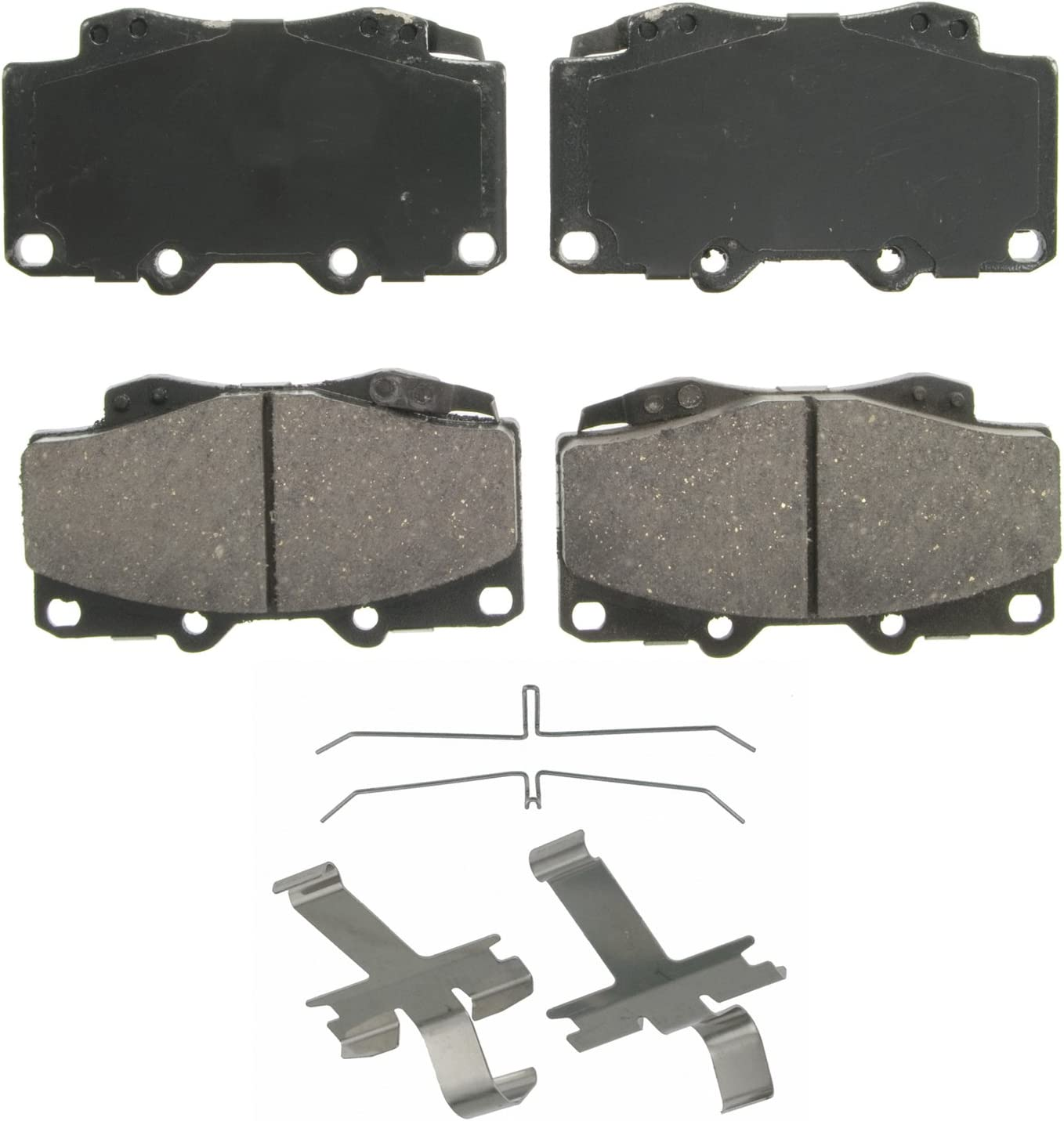 Disc Brake Pad Set-QuickStop Disc Brake Pad Front Wagner ZD436A