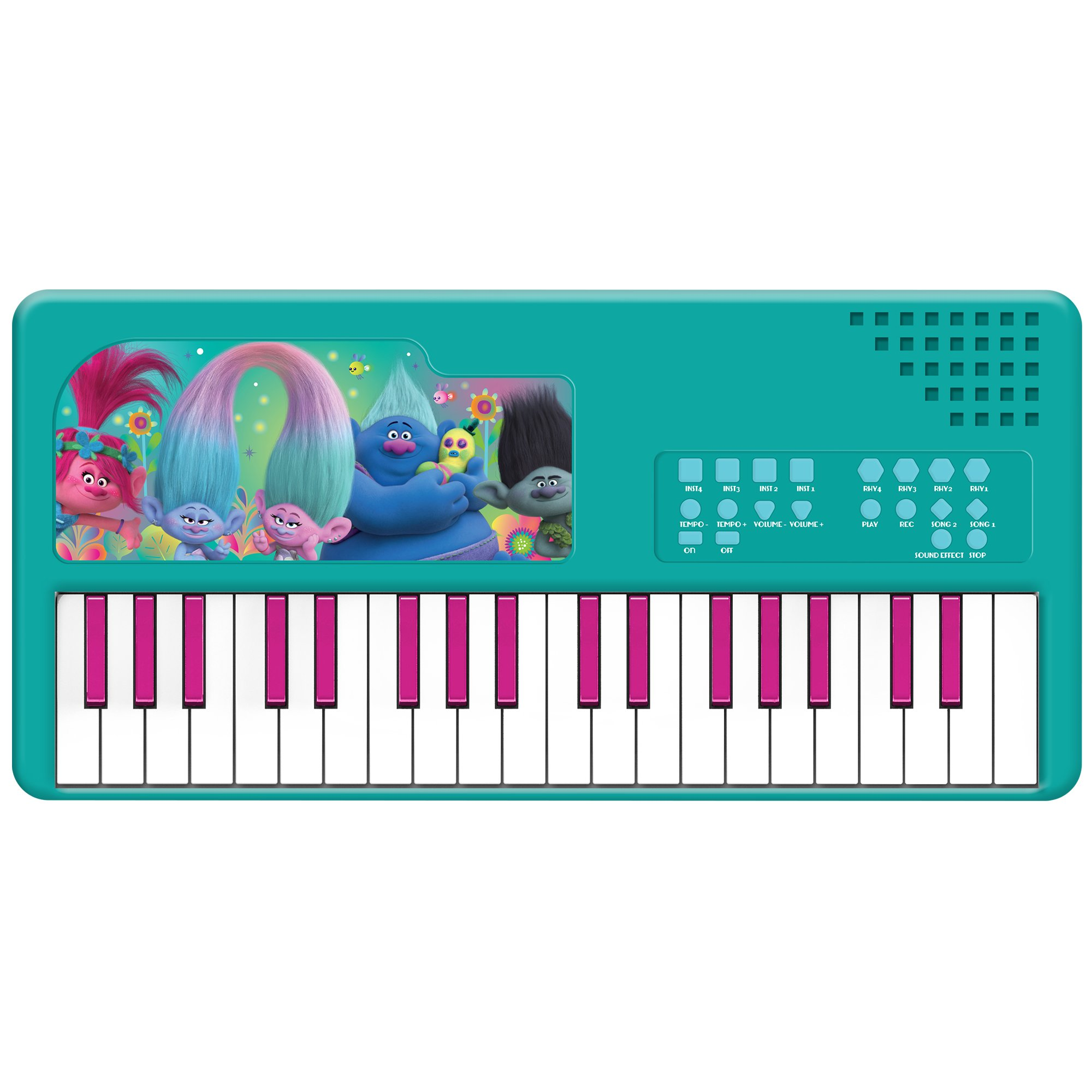 First Act TR135 Trolls Portable Keyboard