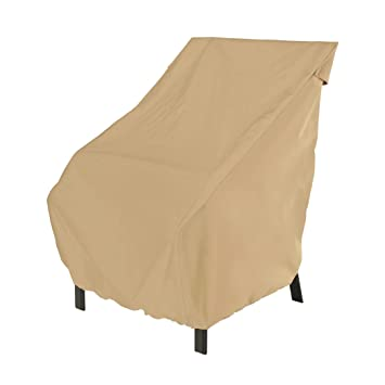 Classic Accessories Terrazzo Patio Chair Cover   All Weather Protection Outdoor  Furniture Cover (58912