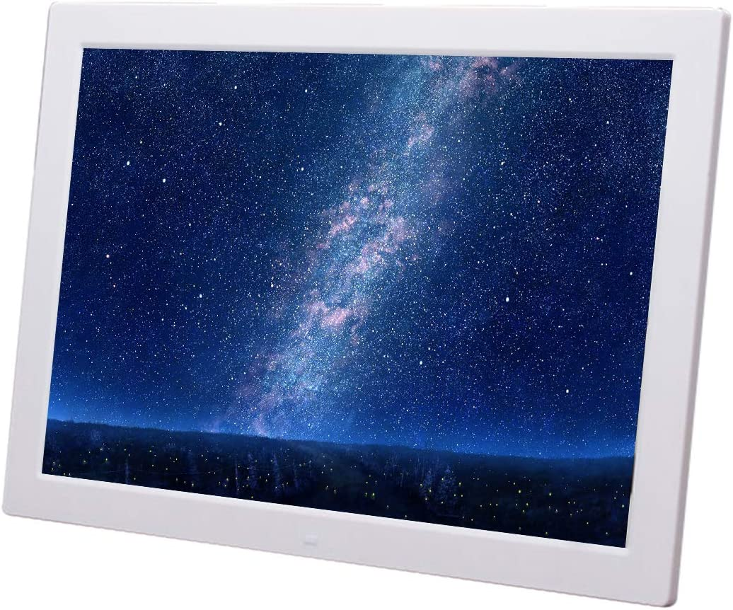 Home Desktop Digital Photo Frame 18.5 inch high-Definition Advertising Player Supports Wall-Mounted Supports Video//Music//Picture Playback//Clock//Calendar//HDMI