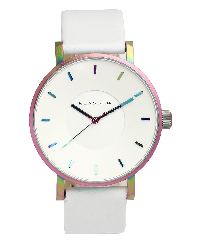 [クラス14]KLASSE14 腕時計 ウォッチ VOLARE レインボーホワイト 42mm シンプル ファッション メンズ レディース [並行輸入品] B01GCM6VZW
