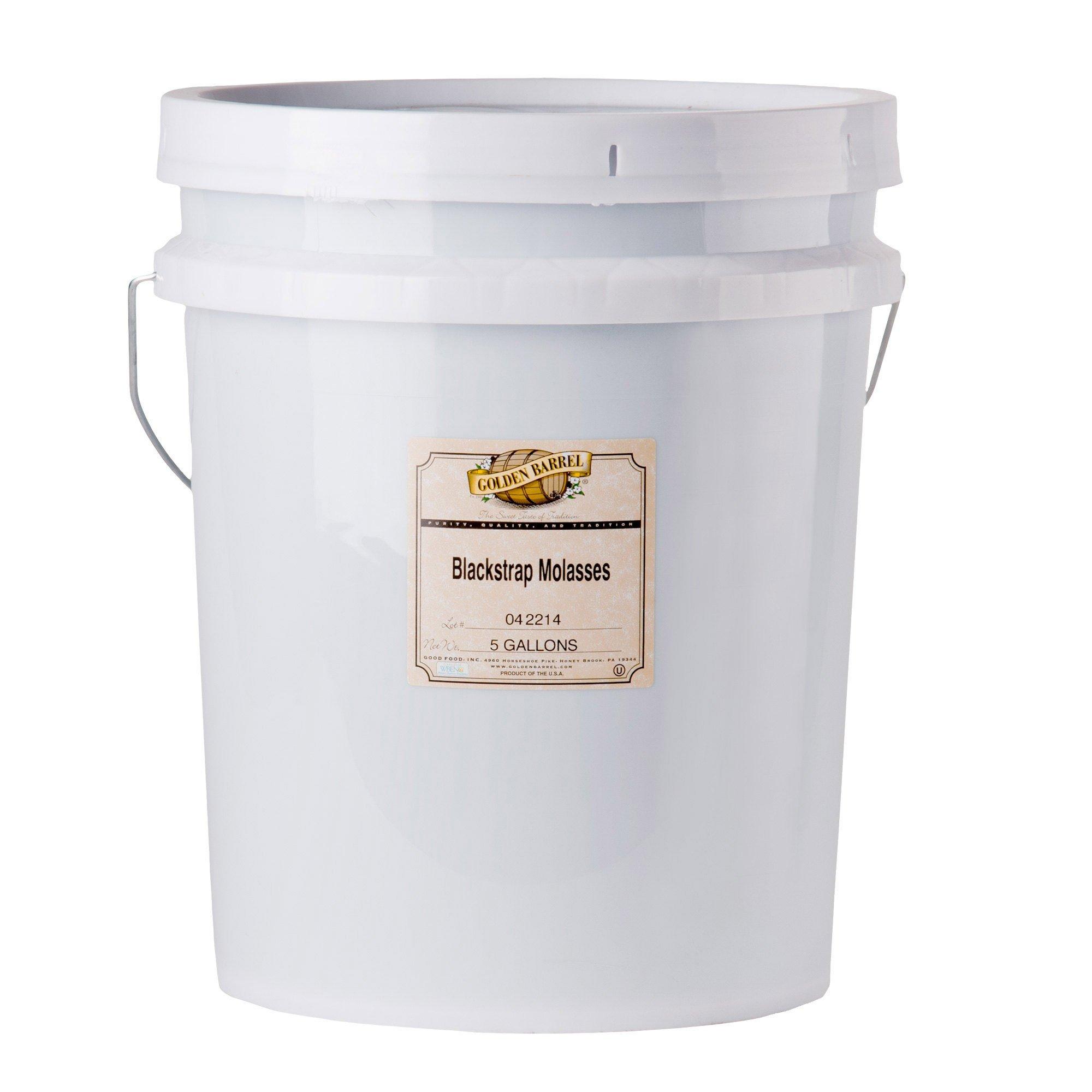 Golden Barrel Blackstrap Molasses (5 Gallon Pail)