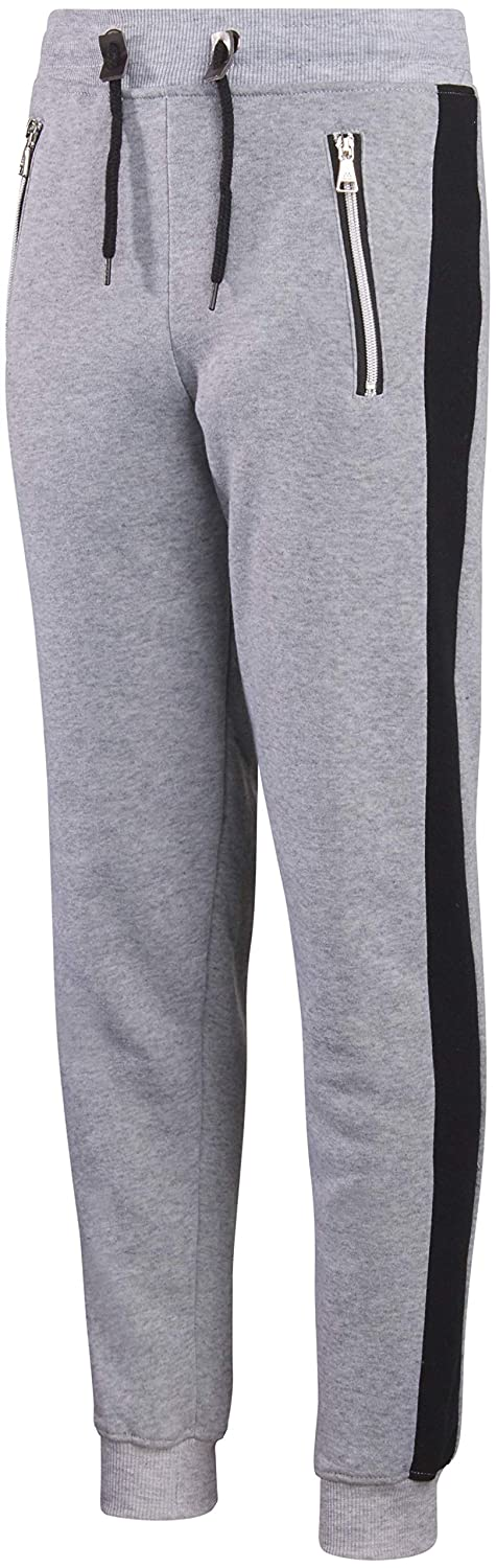 Galaxy by Harvic Boys Active Fleece Jogger Pant with Panel Detail