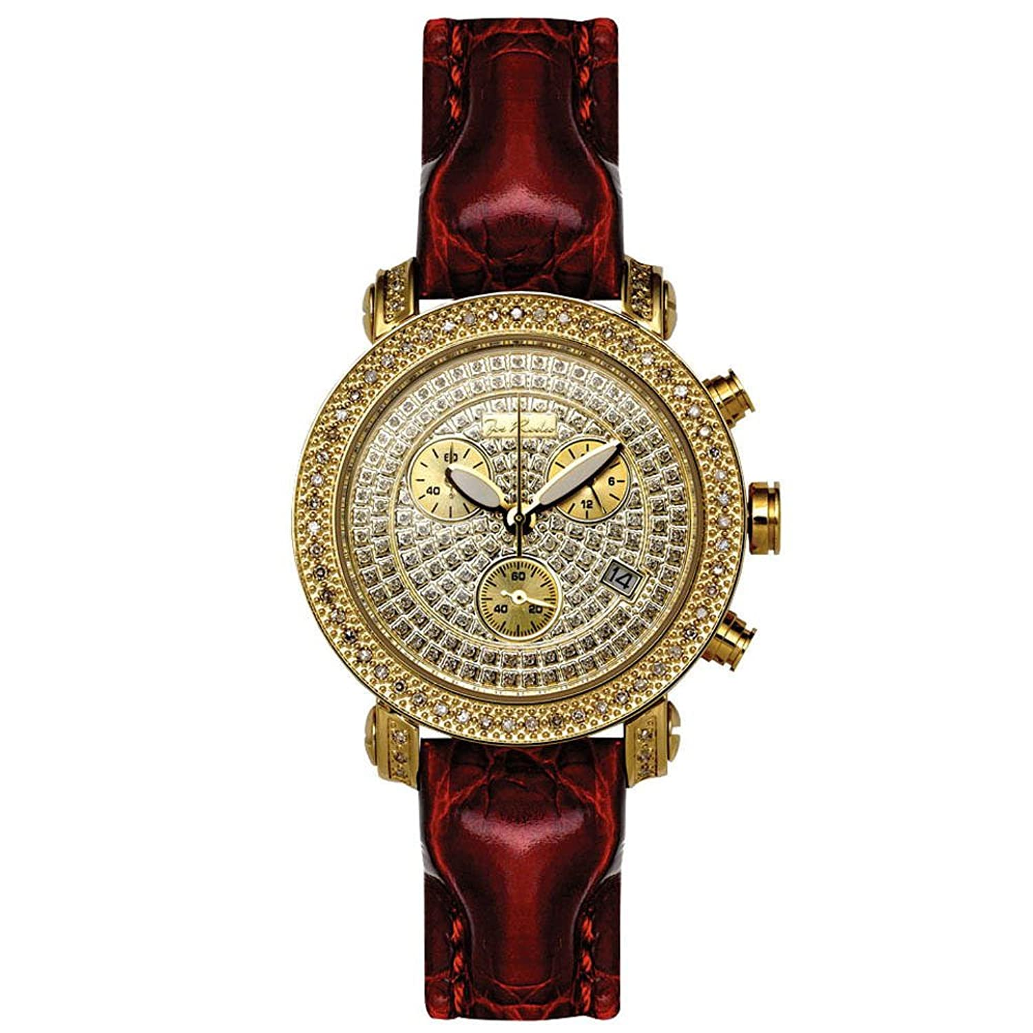 Joe Rodeo Diamant Damen Uhr - PASSION gold 0.6 ctw
