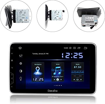 7/'/' 2 DIN Autorradio GPS Carplay+Cámara DVR//FM Android Auto Bluetooth MP5 Siri
