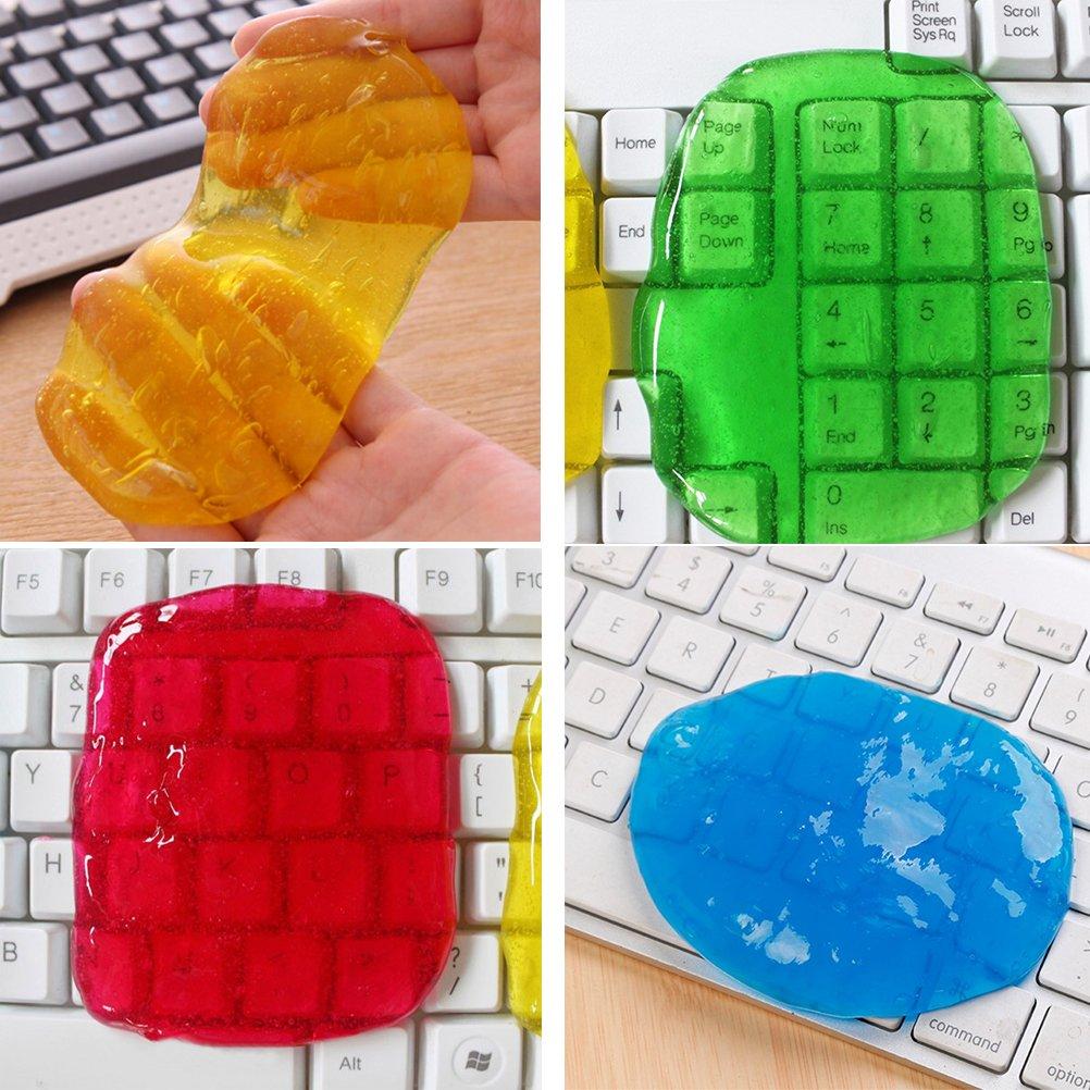 Pulitore tastiera OUNONA Gel per pulizia polvere e sporco riutilizzabile Colore casual