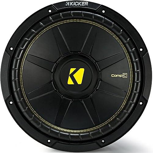 Kicker 12 Inch CompC 300 Watt RMS 4 Ohm review