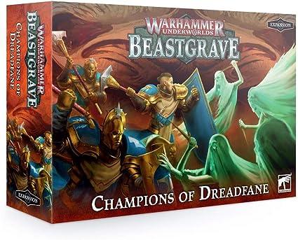 Champions of Dreadfane Warhammer Underworlds Beastgrave