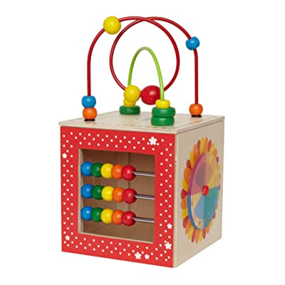 Hape Discovery Box Wooden Activity Center Baby Toy: Toys & Games