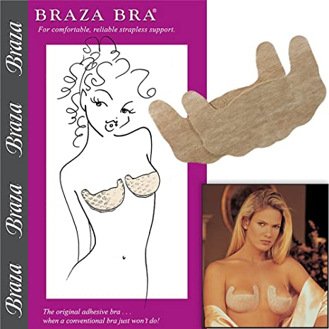 7db422f2fc Braza Self Adhesive Bra at Amazon Women s Clothing store  Self Adhesive Bras