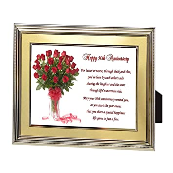 Amazoncom Couple Gift For 50th Wedding Anniversary Fifty Years