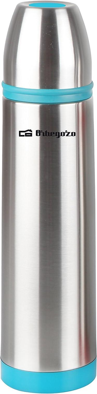 Orbegozo TRL 370 - Termo líquido, inox, 350 ml, color turquesa