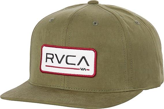 RVCA Hombres Bloque Grande del Sombrero - Verde -: Amazon.es: Ropa ...