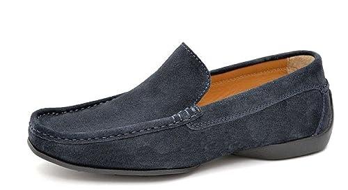 PRATIK of Portugal ALBERT - Mocasines de cuero para hombre, color, talla 39.5: Amazon.es: Zapatos y complementos