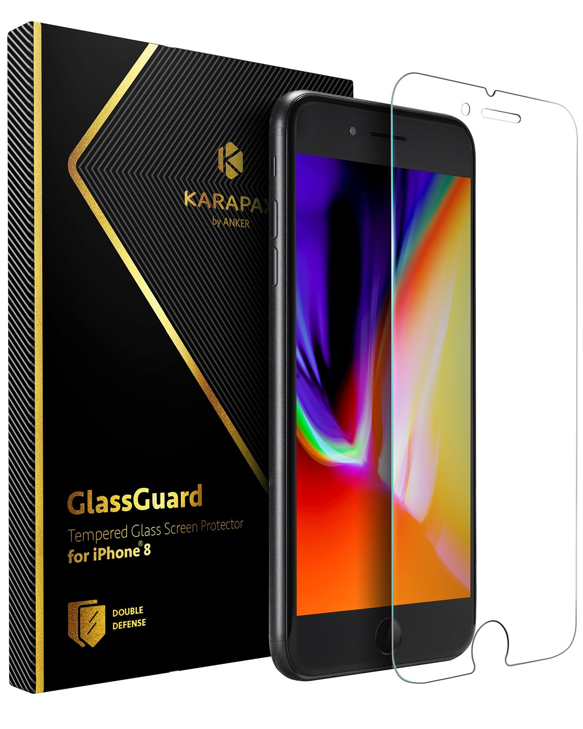 Anker KARAPAX GlassGuard iPhone 8 / 7 用